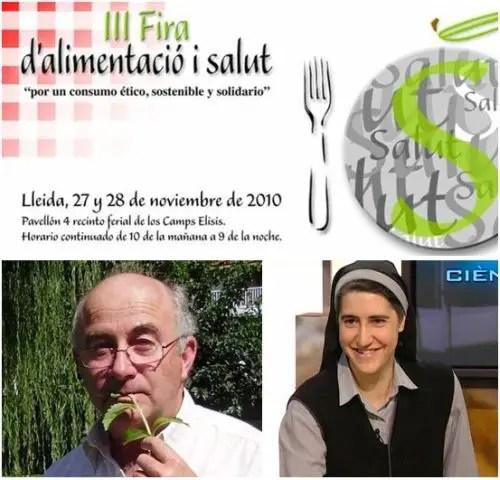 fira - III Feria de alimentación y salud de Lérida organizado por la Dulce Revolución de las Plantas Medicinales y con la presencia de Teresa Forcades