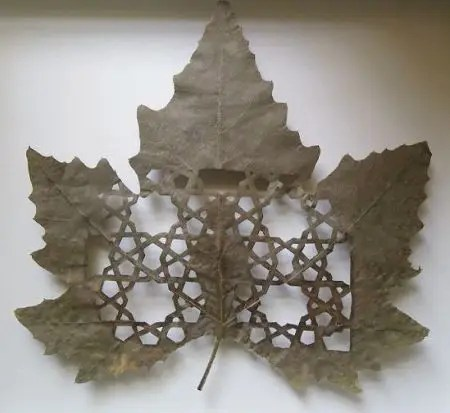naturayarte2 - NATURAYARTE: la Naturaleza en el arte del calado de hojas