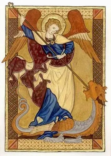 Web St Michael dragon - Arcángel Miguel y el Dragón