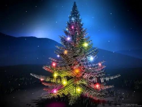 arbol - YULE, solsticio de invierno: la noche más larga del año