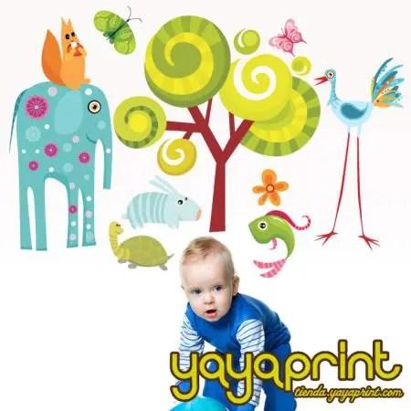bebes yayaprintb - Yayaprint: originales vinilos decorativos para niños y mayores