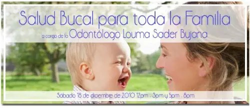 salud bucal31 - SALUD BUCAL para toda la familia. Entrevistamos a la odontóloga Louma Sader Bujana
