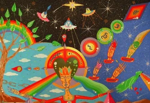 samuel tutusaus4 - Pintura cósmica de Samuel Tutusaus
