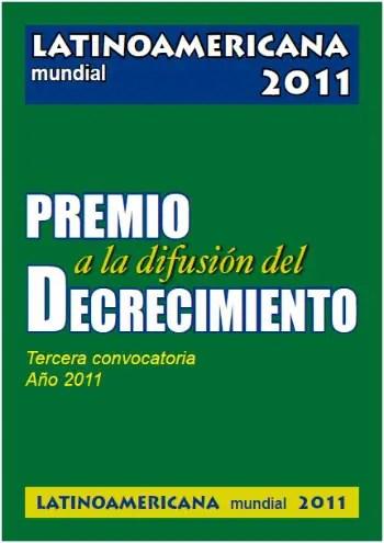 decrecimiento - premio difusión decrecimiento