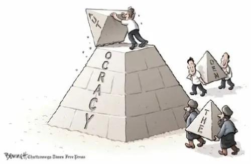 democracia - ¿Por qué seguimos QUIETO TODO EL MUNDO?
