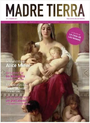 madre tierra 3 - Instinto, verdad, mitos y creencias en la crianza: revista Madre Tierra nº 3