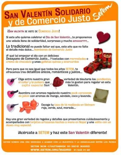regalos san valentin22 - Regalos no materiales y de comercio justo para San Valentín