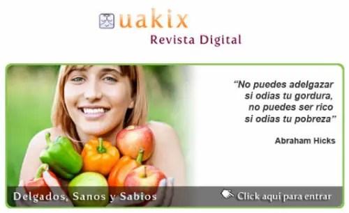 uakix febrero 2011 - Seamos delgados, sanos y sabios: revista online Uakix febrero 2011