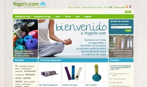 YogaYe Homepage2 - YogaYe