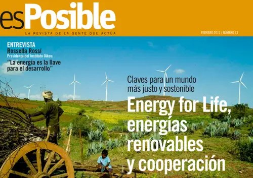 esPosible numero 13 Energy for life energias renovables y cooperacion - Energy for Life, energias renovables y cooperacion: Revista esPosible nº 13.