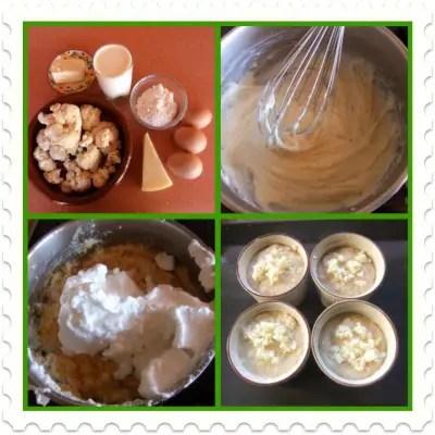 soufle de coliflor