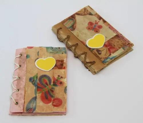 agendas2 - ¿Cuál es la gran lección de tu vida?: regalo de 2 agendas artesanales