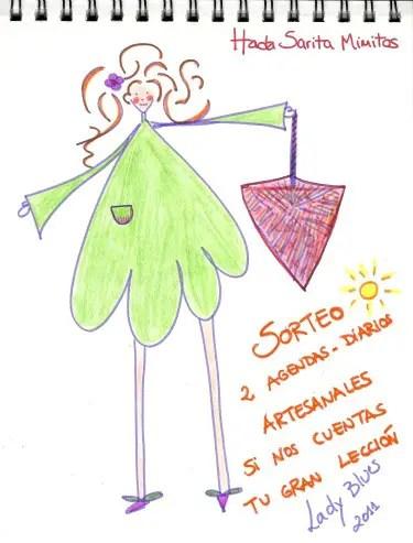 hada sarita1 - ¿Cuál es la gran lección de tu vida?: regalo de 2 agendas artesanales