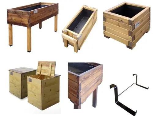 huerto - Huertos ecológicos y solidarios en madera reciclada