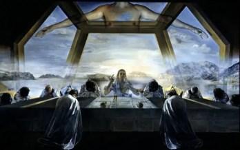"""la ultima cena1 500x314 - EL SIMBOLISMO DE LA CRUZ O """"LA CUADRATURA DEL CÍRCULO"""": el significado arcano de los símbolos (3)"""