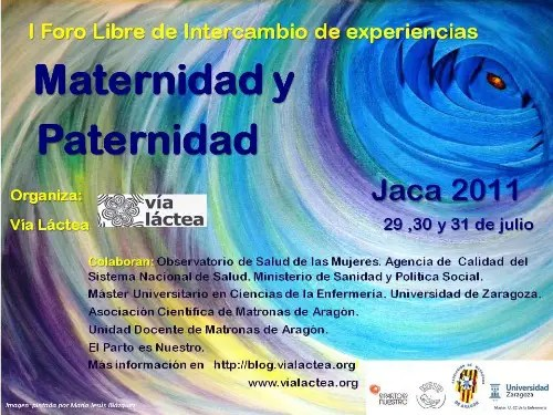 cartelforojacab - JACA 2011: I Foro libre de intercambio de experiencias Maternidad y Paternidad