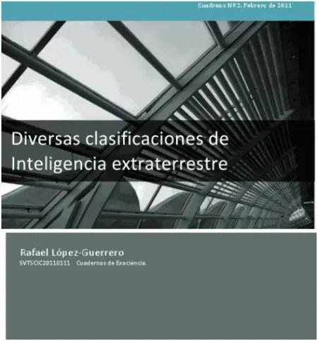 clasificaciones d einteligencia extraterrestre - clasificaciones de inteligencia extraterrestre