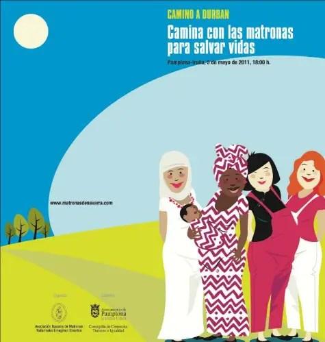 matronas - Las matronas caminan por las mujeres en el mundo