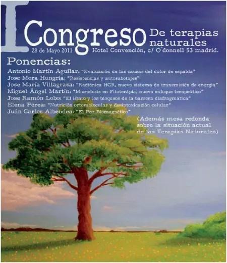 pronadherb - I Congreso de Terapias Naturales: Madrid 28 de mayo 2011