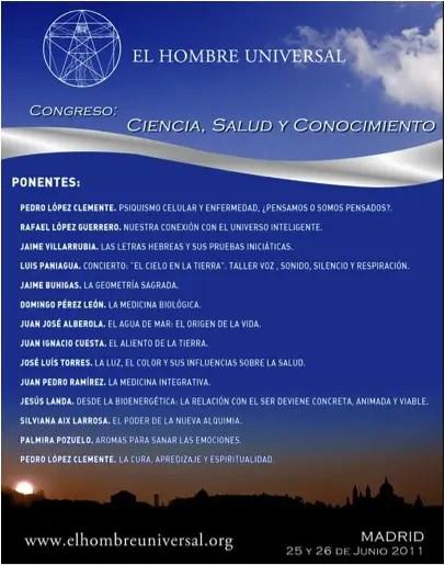 congreso - Ciencia, Salud y Conocimiento: congreso en Madrid en junio 2011