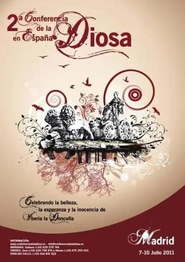 diosa - 2º Conferencia de la Diosa en España, Madrid julio 2011