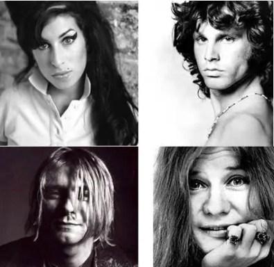Club de los 27 - Amy Winehouse y el Club de los 27