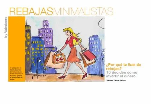 rebajas minimalistas - Rebajas minimalistas: manual en pdf