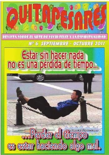 """quitapesares - """"Estar sin hacer nada no es una pérdida de tiempo"""": revista en pdf Quitapesares nº 6"""