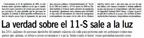 11sb - 11 S, el autoatentado que cambió la historia