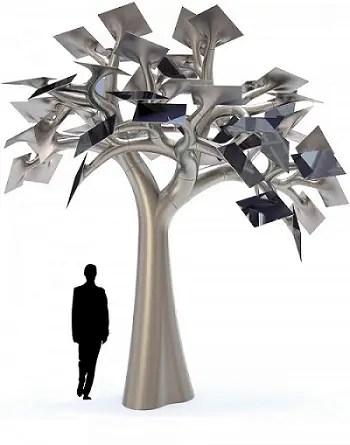 Electree City - Electree: bonsái para recargar tus gadgets
