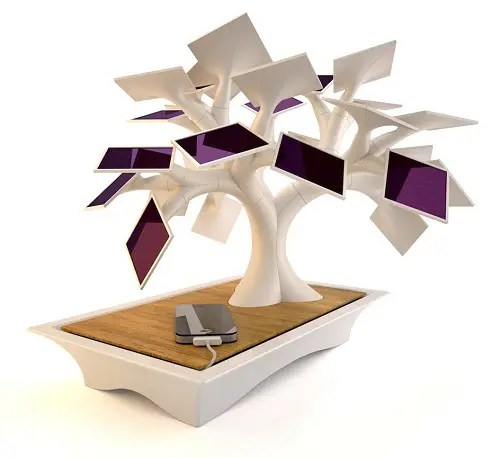 Electree - bonsai solar para regargar gadgets