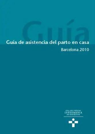 partocsab - guia atencion parto casa barcelona 2010