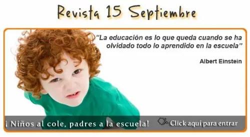 uakix septiembre 2011 - Niños al cole, padres a la escuela
