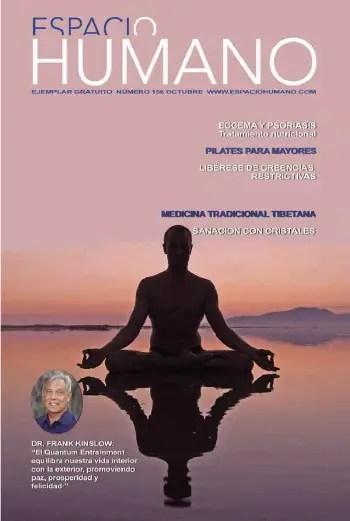 espacio humano 1561 - Revista Espacio Humano octubre 2011 con entrevista a Frank Kinslow y su curación cuántica