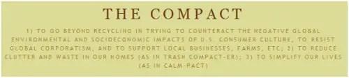 the compact - Iniciativa para NO comprar nada nuevo en octubre 2011