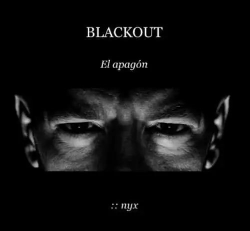blackout - BLACKOUT. El apagón: novela gratuita sobre el presente y el futuro