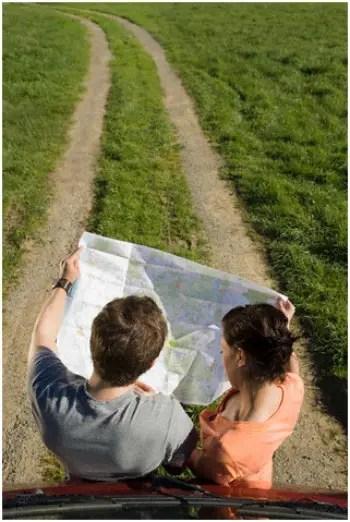 camino - camino y pareja