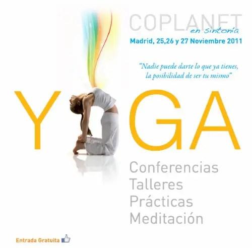 coplanet - Coplanet II: encuentro gratuito de diferentes escuelas de Yoga en Madrid