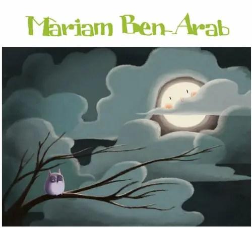 """mariam ben arab - """"La inspiración llega trabajando duro"""". Entrevista a la ilustradora Mariam Ben-Arab"""