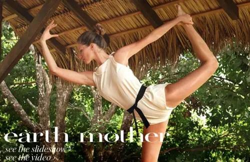 GISELE YOGA - Gisele Bündchen: yoga, solidaridad y crianza