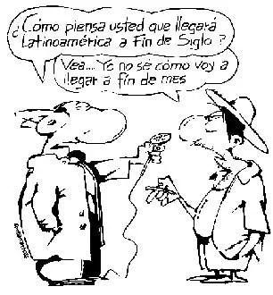 caricaturafontanarrosa - Las venas abiertas de América latina y Eduardo Galeano
