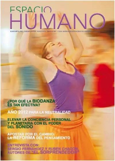 espacio humano 159 - ¿Por qué la Biodanza es tan efectiva? Revista online Espacio Humano nº 159