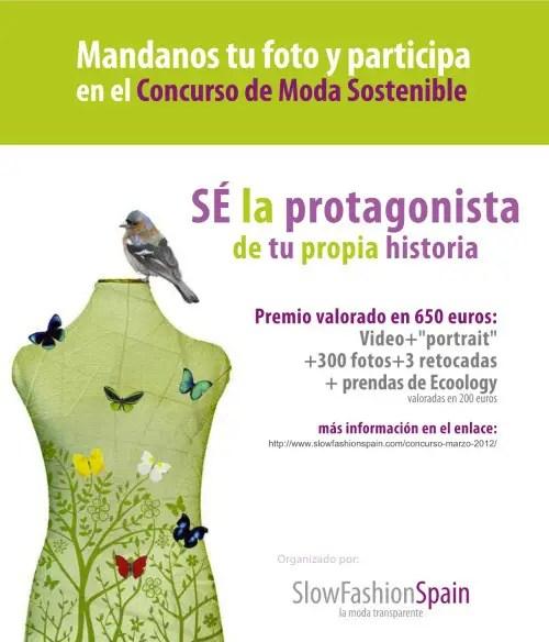 CARTEL CONCURSO DIFUSION - Concurso de Moda Sostenible marzo 2012