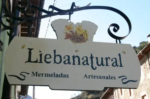 cartel - Liebanatural, conservas con alma rural, a fuego lento