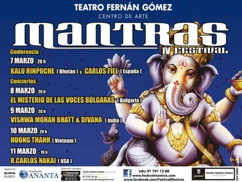 IV festival mantras