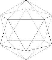 icosaedro lineal - icosaedro-lineal