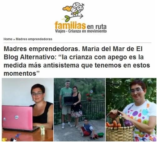 madres emprendedoras1 - Me entrevistan como madre emprendedora en red