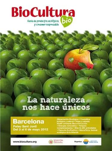 Biocultura Barcelona 2012 Cartel - SORTEO de 20 entradas dobles para BIOCULTURA Barcelona 2012