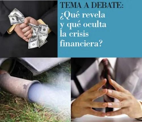agenda viva - ¿Qué revela y qué oculta la crisis financiera?. Agenda Viva primavera 2012: revista online