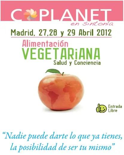 coplanet 2012 - Alimentación vegetariana en Madrid, Coplanet 2012